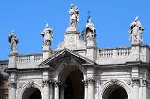 Detail Of The Papal Basilica Of Saint Mary Major
