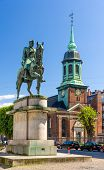 Equestrian Statue Of King Christian X In Copenhagen