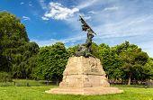 Monumento Ai Caduti Del Viii Agosto 1848 In Bologna, Italy