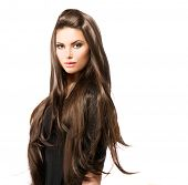 image of brunette hair  - Hair - JPG