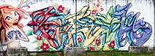 GOMEL, BELARUS - MAY 14 : Street art by unidentified artist on May 14, 2014 in Gomel, Belarus.