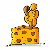 foto of smelly  - cartoon smelly cheese - JPG