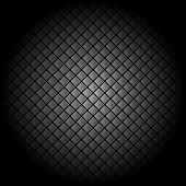 Black tile background pattern illustration