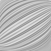 Design Monochrome Parallel Diagonal Warped Lines Background