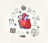 Healthy Heart  Hand Drawn Tips