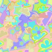 abstract background children's seamless pattern