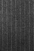 stock photo of black pants  - Black and white pinstripe suit detail up close - JPG
