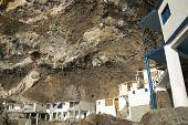 Houses In A Natural Cave. Poris De La Candelaria. Spain