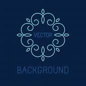 Vectot Line Logo Design Element