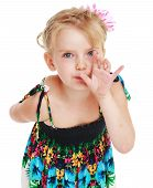 picture of little girls photo-models  - little girl secret in - JPG