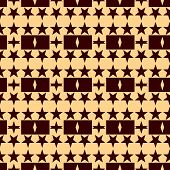 Seamless pattern with a stars