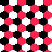Seamless Hexagon Background. Vector Geometric Texture