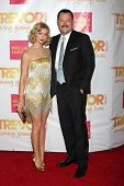 LOS ANGELES - DEC 7:  Beth Behrs, Michael Gladis at the