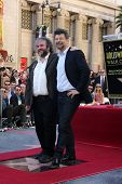 LOS ANGELES - DEC 8:  Peter Jackson, Andy Serkis at the Peter Jackson Hollywood Walk of Fame Ceremony at the Dolby Theater on December 8, 2014 in Los Angeles, CA