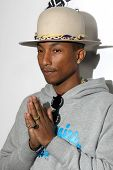 LOS ANGELES - DEC 8:  Pharrell Williams at the NBC's