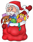 Santa Claus topic image 1 - eps10 vector illustration.