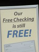 free checking is still free