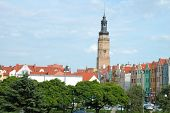 Town Hall Tower And Other Buildings In Glogow, Poland