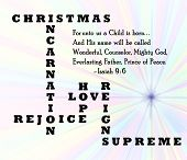 pic of reign  - christmas incarnation is the reason for the season - JPG