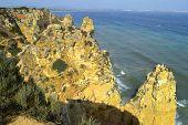 Ponta Da Piedade spectacular rock formations