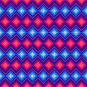 Modern crystal zig zag and rhombus seamless pattern.