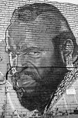 Street art Montreal Mr T