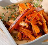 Sweet Potato Fries With  Thyme
