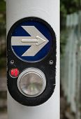 Pedestrian Walk Traffic Lights Switch