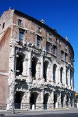 Marcelus Theatre, Ancient Construction In Rome