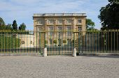 stock photo of versaille  - Le Petit Trianon in the park of Versailles Palace - JPG