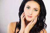 Girl Portrait, Brunette