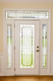pic of entryway  - Nice Front door from interior view - JPG