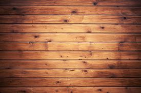 foto of uncolored  - Background texture of natural uncolored wooden wall made of lining boards - JPG