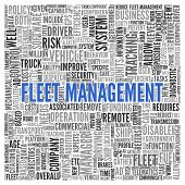 picture of fleet  - Close up FLEET MANAGEMENT Text at the Center of Word Tag Cloud on White Background - JPG