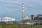 pic of gas-pipes  - gas processing factory - JPG