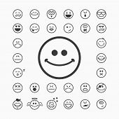 foto of cry  - Smiley faces icons - JPG