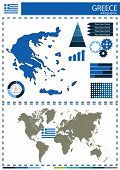 pic of nationalism  - vector Greece illustration country nation national culture - JPG