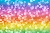 pic of twinkle  - Rainbow colorful background with natural bokeh defocused sparkling lights - JPG