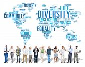 picture of racial diversity  - Diversity Ethnicity World Global Community Concept - JPG