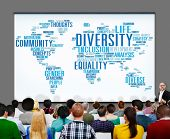 stock photo of racial diversity  - Diversity Community Meeting Business People Concept - JPG