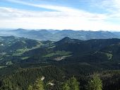 stock photo of hitler  - The beauty of the Austrian Alps is evident to all who visit Adolf Hitler - JPG