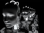 Mujeres robot