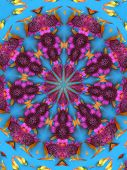 picture of woodstock  - digitally created mandala very suitable as a background - JPG
