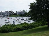 View Of Dennis Harbor On Cape Cod
