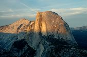Half Dome At Sunset 3