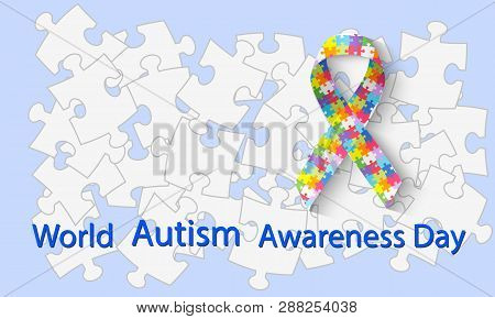 World Autism Awareness Day Symbolic