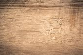 Top View Brown Wood Paneling With Crack, Old Grunge Dark Textured Wooden Background,the Surface Of T poster