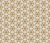 Japanese Seamless Pattern In Style Kumiko.for Template,fabric,shoji Screens,textile,wrapping Paper,l poster