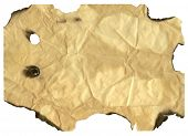treasure map paper