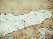 Brown grungy wall Sandstone surface background poster